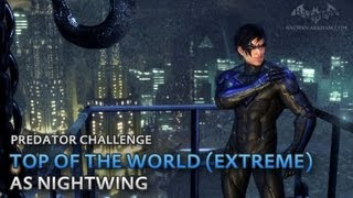Batman: Arkham City - Top of the World (Extreme) [as Nightwing] - Predator Challenge