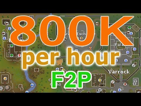 Great RuneScape F2P Money Making Guide! : (Part Two!) : 2013