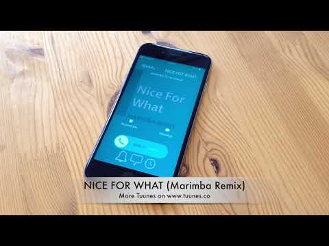 Nice For What Ringtone - Drake Tribute Marimba Remix Ringtone - iPhone & Android Download