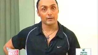 Staying fit with Rahul Bose