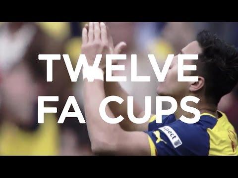 Arsenal FC: Twelve FA Cups