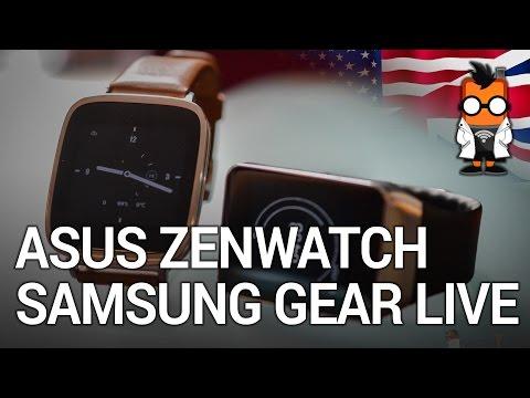 ASUS Zenwatch vs Samsung Gear Live - Smartwatch Comparison