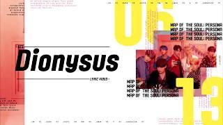 BTS (방탄소년단)  - Dionysus Lyrics/가사