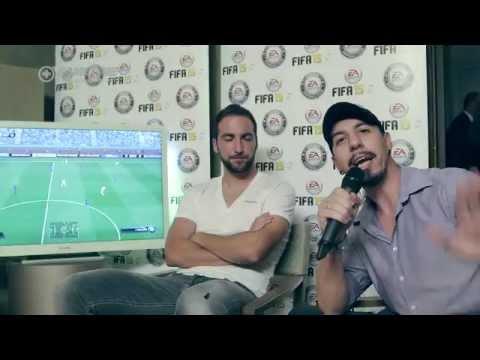Intervista del Raffo a Gonzalo Higuaín per FIFA 15