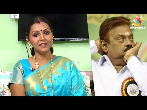 Vijayakanth is the comedy CM candidate : Fathima Babu Interview | Tamil Nadu Election 2016