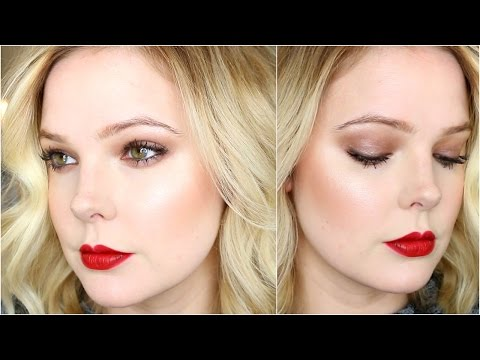 DAYTIME HOLIDAY MAKEUP TUTORIAL | Quick Look For Christmas