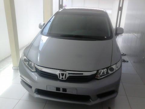 Impressões Honda Civic 2014 modelo 2015 versão LXS DE ENTRADA
