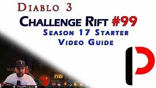 Diablo 3 - Challenge Rift #99 - Season 17 Starter Challenge Rift - Demon Hunter Guide.