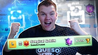 #1 IN THE WORLD!! 6,700+ Balloon 2.9 Cycle Deck Top Ladder Replays - Clash Royale
