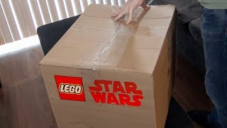 LEGO Star Wars Unboxing + Giveaway!