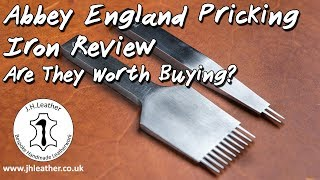 Abbey England Pricking Iron Review - Are They Worth Buying?