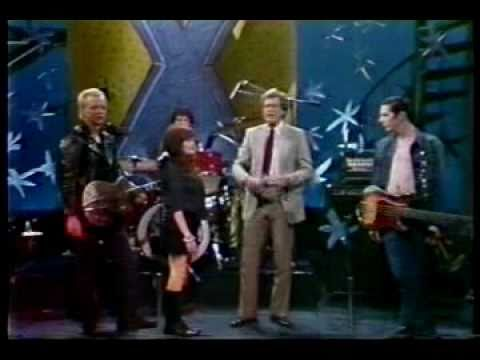 X - Hot House (David Letterman 1983)