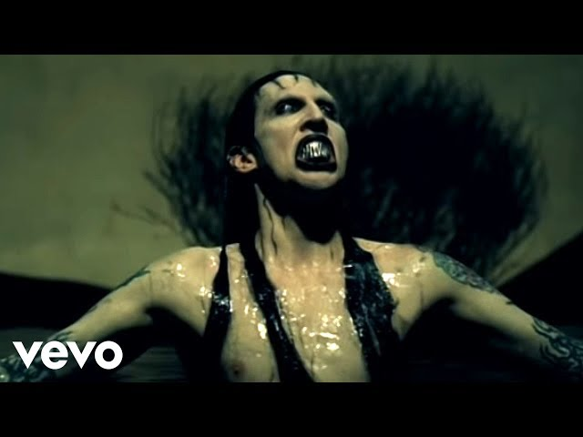 Play this video Marilyn Manson - Disposable Teens Official Music Video
