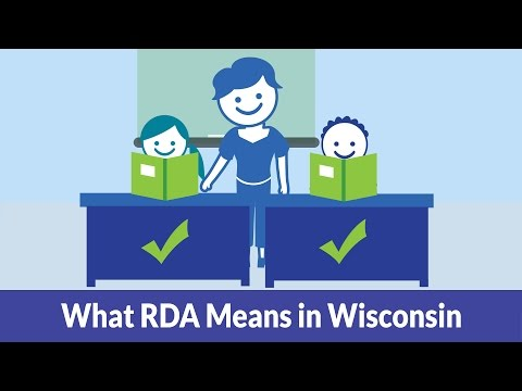 What RDA Means in Wisconsin