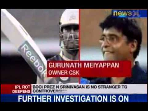 News X : Why Srinivasan should quit?