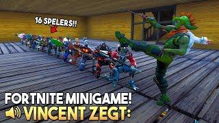 VINCENT ZEGT 13.0 *MET 16 SPELERS* - Fortnite Creative (Nederlands)