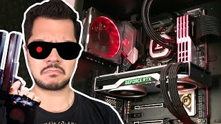 World's first RTX 2080 Super build - The Terminator