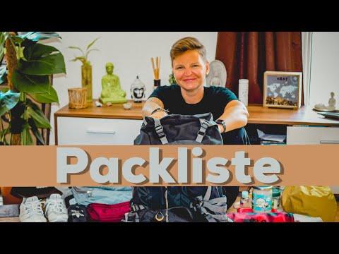 Weltreise Packliste-   DAUERWERBESENDUNG