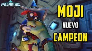 MOJI Nuevo Campeón Paladins - ¿Como Funciona? - Gameplay Español