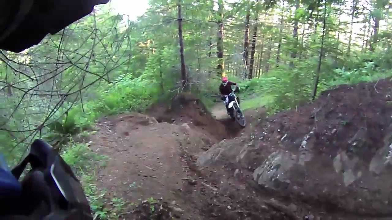 Oregon Coast Trail Dirt Bike Riding Youtube