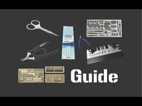 ISM Guide on How to Use Photo-Etch & The Tools Involved