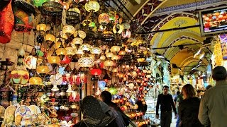Shopping at Grand Bazaar Istanbul Turkey 🇹🇷 Tourism Travel Video Guide إسطنبول