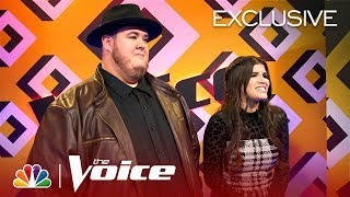 After The Elimination: Joana Martinez & Shane Q (Presented by Xfinity) - The Voice 2019