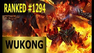 Wukong Jungle - Full League of Legends Gameplay [German] Lets Play LoL - Ranked #1294