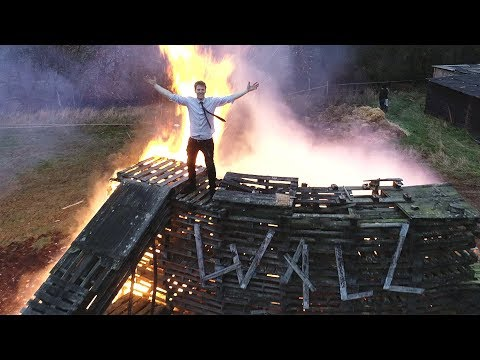 Burning the Wall Of Death