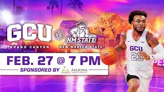GCU Men's Basketball vs New Mexico State February 27, 2020