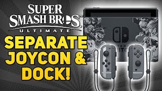 Buy the Smash Bros. Ultimate JOYCONS and DOCK without the Bundle!