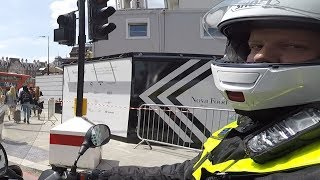Police Motorbike Hit and run London