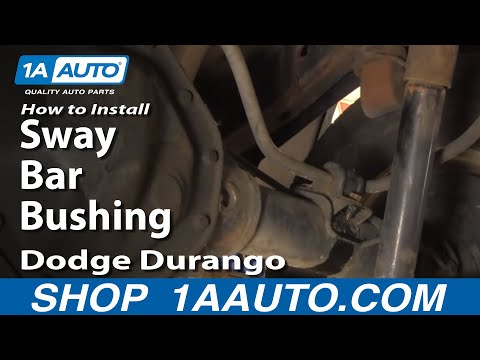How To Install Replace Rear Sway Bar Bushings Dodge Durango Dakota 97-07 1AAuto.com