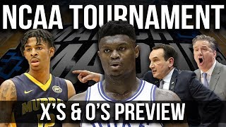 NCAA Tournament X's & O's Preview | 2019 NCAA Tournament Best Sets
