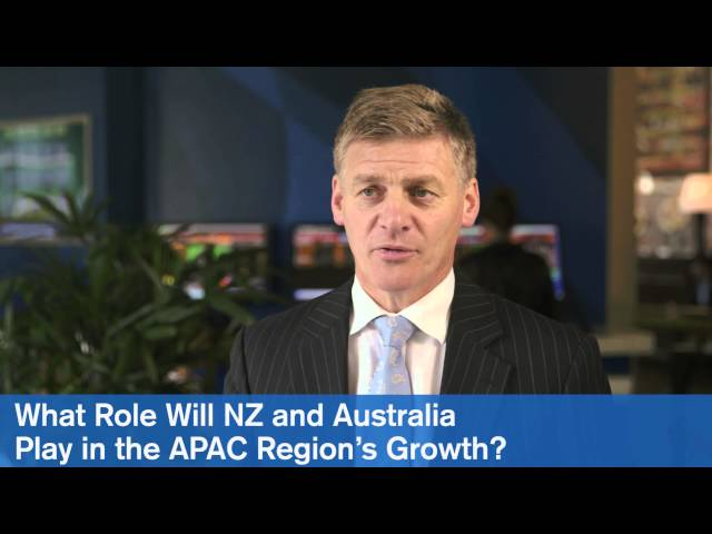 Bill English, Deputy Prime Minister and Minister of Finance, New Zealand