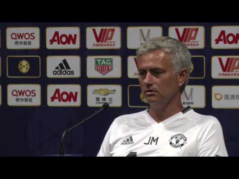 Jose Mourinho Explains Why he Left Zlatan Ibrahimovic Out of Pre-Season Tour