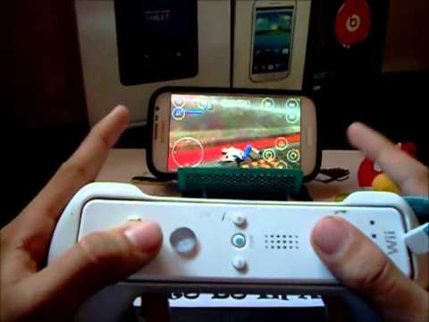 Como Conectar Un Mando De Wii En Android // WiiMote Controller   TecnoDroid ( Argentina )