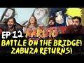 Youtube Thumbnail Naruto - Episode 12 Battle on the Bridge! Zabuza Returns! - Group Reaction