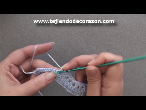 Crochet : Punto Zig Zag # 2