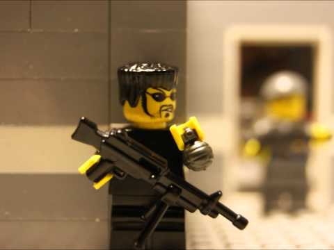 Lego Bank shootout Music Videos
