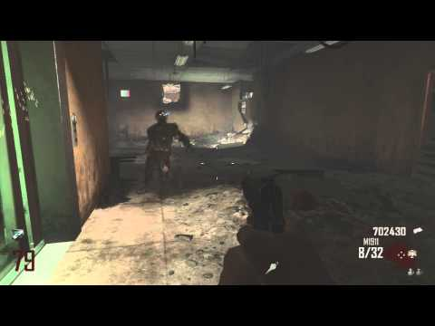 Black Ops 2 Zombies Die Rise: 12,623 Kills - Round 79 - Final Down!