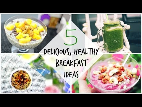 5 Delicious, Healthy, Vegan-Friendly Breakfast Ideas! ♡