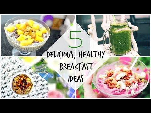 5 Delicious, Healthy, Vegan-Friendly Breakfast Recipes! ♡ - chanelegance