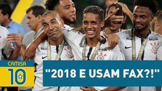 """Corinthians ALOPRA Palmeiras no Twitter: """"2018 e usam FAX?!"""""""