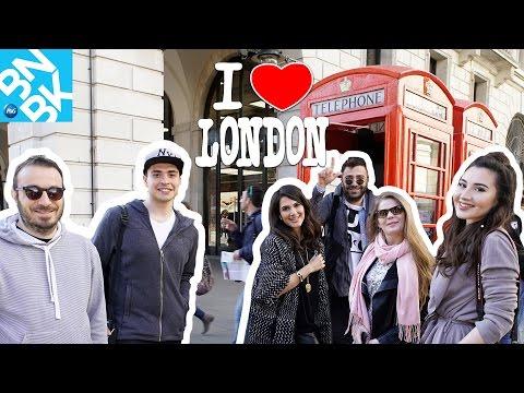 #banabak Vlogger'ları Londra'da Neler Yaşadı?