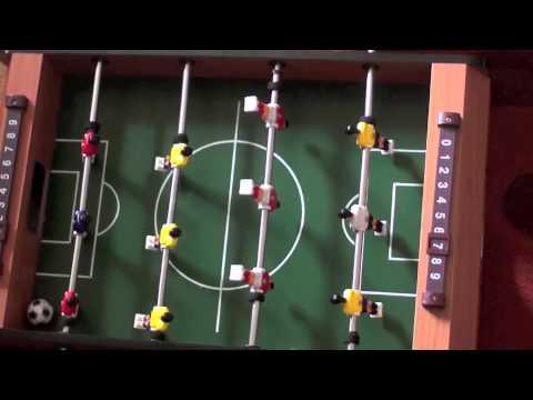 Partita di Calcio Balilla BAMBINI DIVERTENTI VLOG