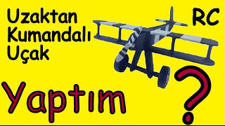 How To Make RC Model Airplane ? - RC Model Uçak Nasıl Yapılır ?