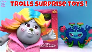 Dreamworks Trolls Surprise Box Tins Opening Toys Reviews for Kids