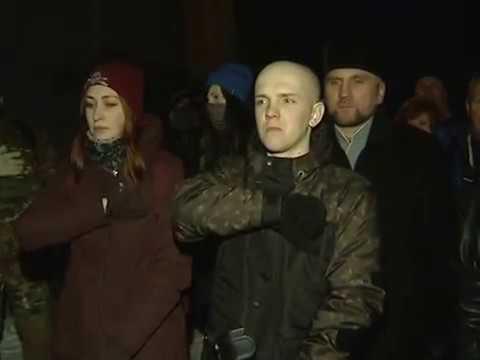 Чернігівські націоналісти відзначили річницю героїчних боїв у Крутах та Бахмачі