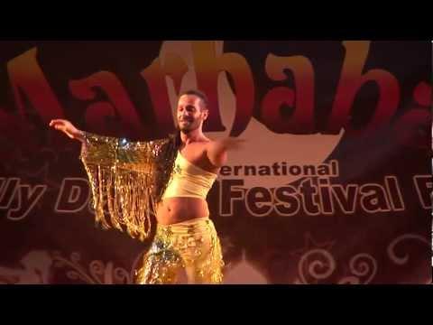 Wasim Male Belly Dancer from Syria - Marhaba Opening Gala 2012...